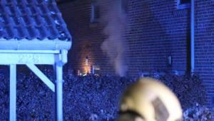 Brand i rækkehus i Risskov