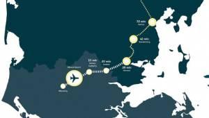 Opbakning til ny togstrækning: Billund-Aarhus direkte